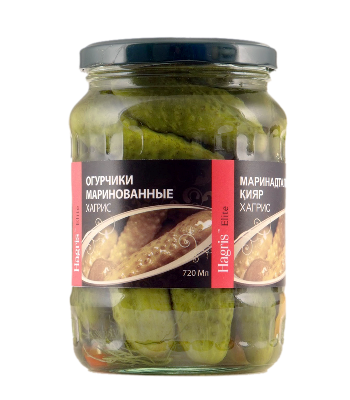Pickled cucumbers  6-9cm