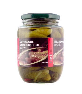 Pickled gherkins  3-6cm